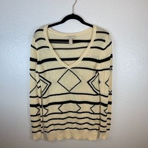 Banana Republic Geometric Sweater
